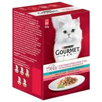 Gourmet Mon Petit Tonfisk/Lax/Öring 6*50g