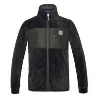 Kingsland barn fleece KLmoris Coral Fleece jacket grön