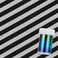 DM- Folie #80 Black & white striped