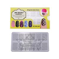 PUEEN- Nail Stamp Plate Fairytale Lover 01