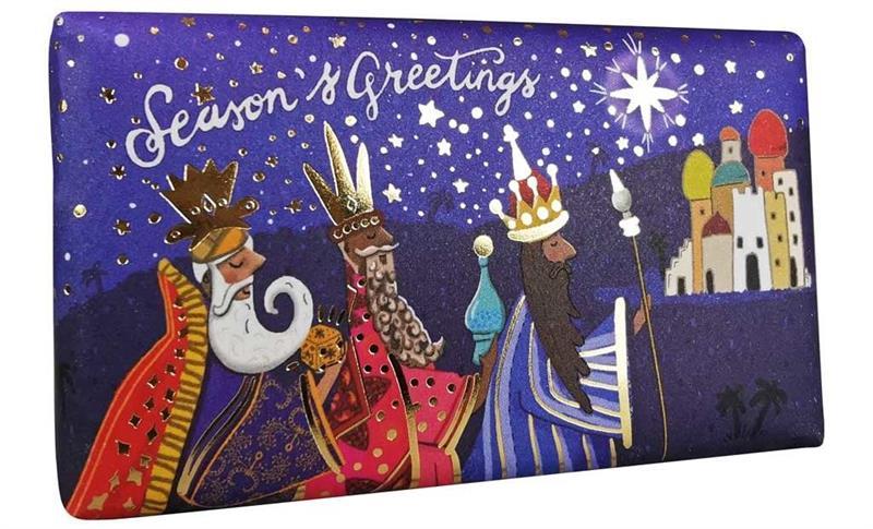 Festive Wrapped SoapThree Kings  190gr