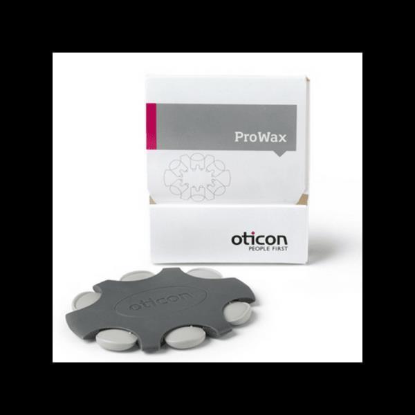Oticon Provax (Novax). 6 filter i oval eske