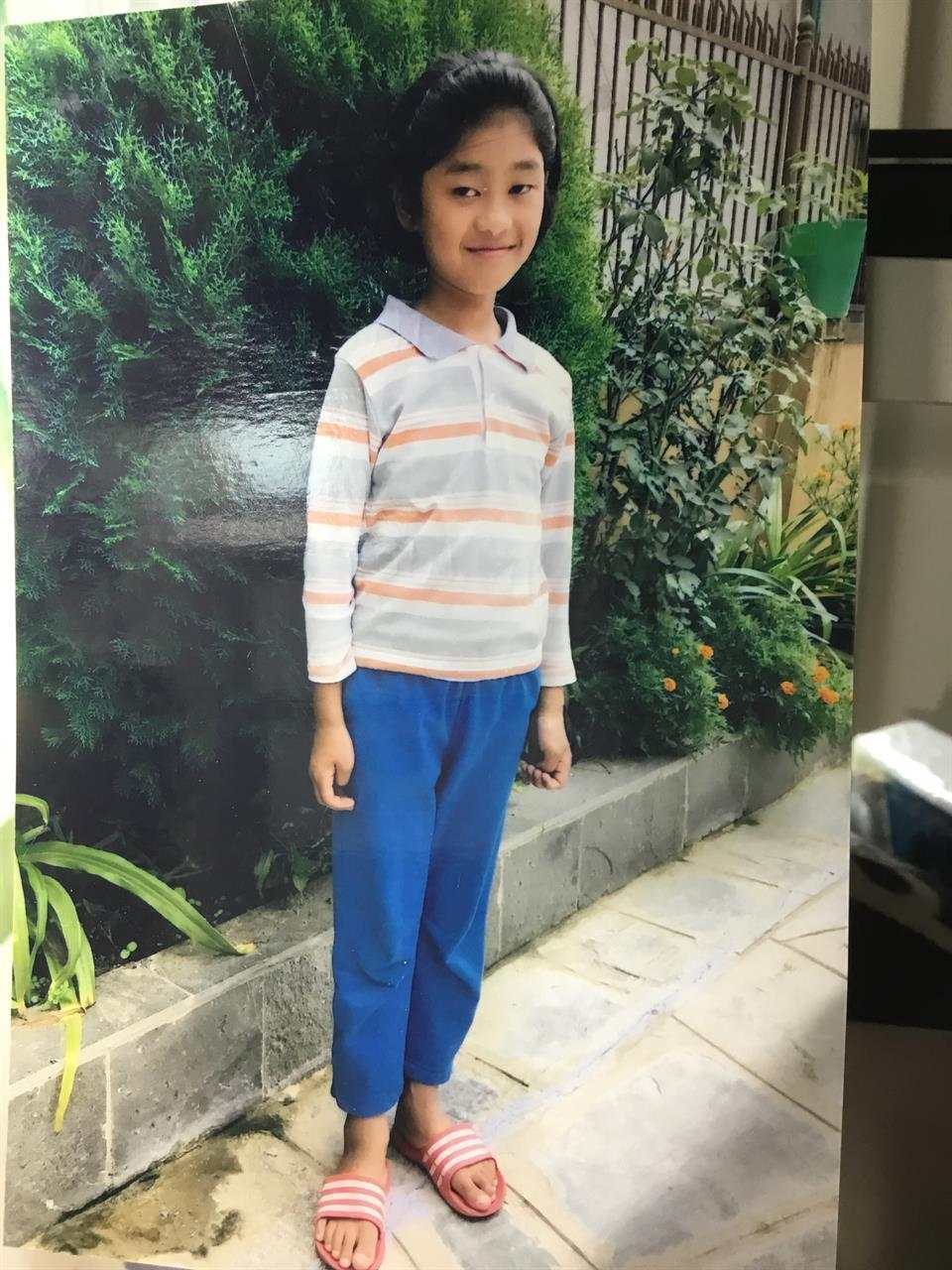 Vårt fadderbarn, Esther Chepang
