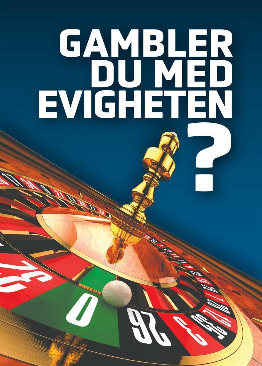 Gambler du med evigheten (A6 - 200 stk)