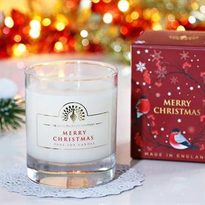 Pure Soya Candle 170 g Merry Christmas