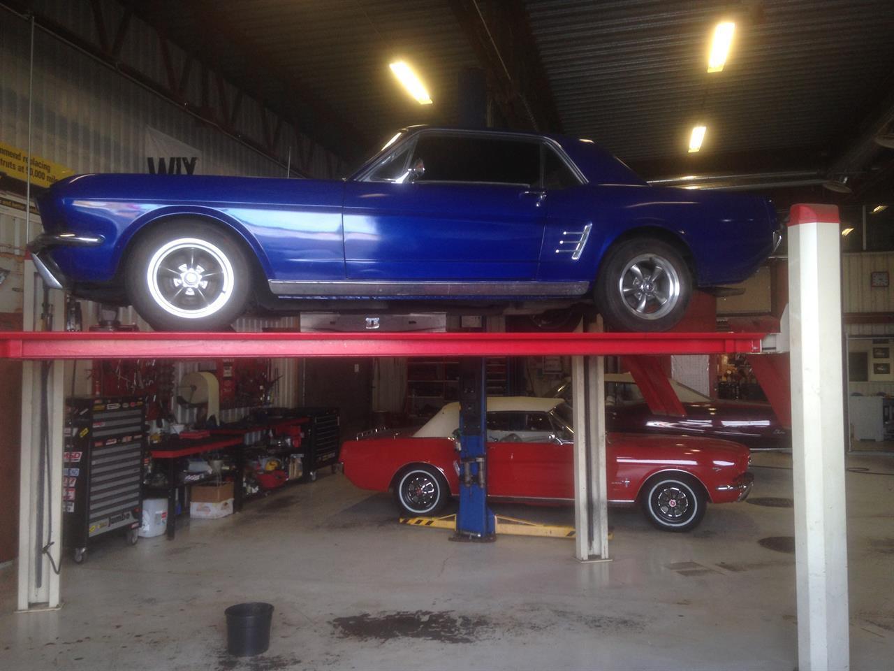 Service- og reparasjoner på din Mustang utføres her