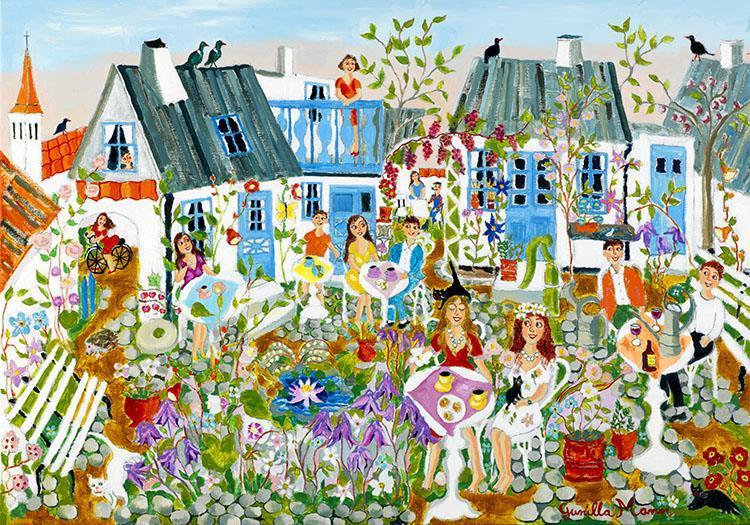 Trädgårdsfesten