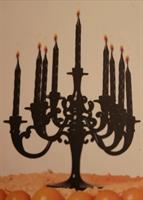 Kakkukynttelikkö + kynttilät