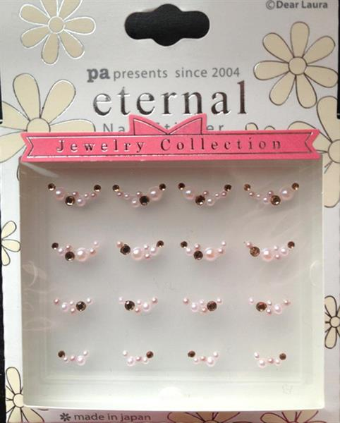 DL- Sticker Jewel pink bow