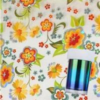 DM- Folie #63 Orange Flower