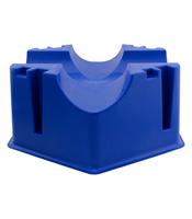 Cavalettiblock 1 Par Plast 15cm Blå