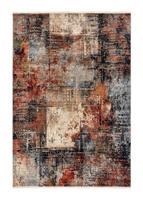 Laura Vintage Röd/Blå 160*235