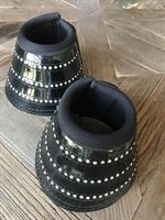 Starlight Bell Boots Shiny Black