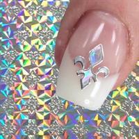 DM- Nail Sticker SILVER