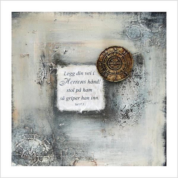 Kunstkort: Legg din vei