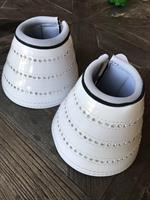 Starlight Bell Boots Shiny White
