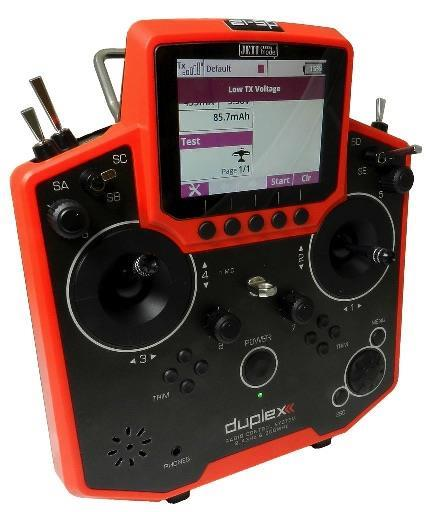 Jeti Duplex DS-12 EX  lähetin Multimoodi punainen