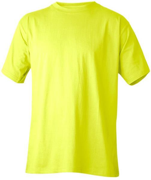 T-shirt varselgul L