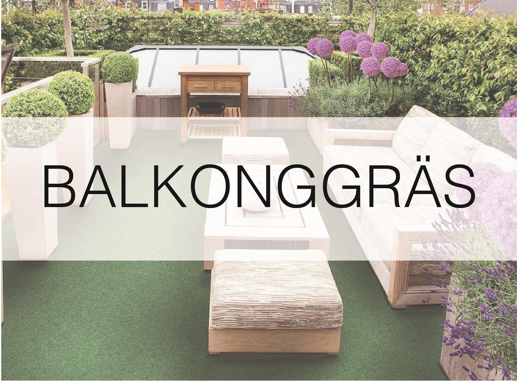 Balkonggräs