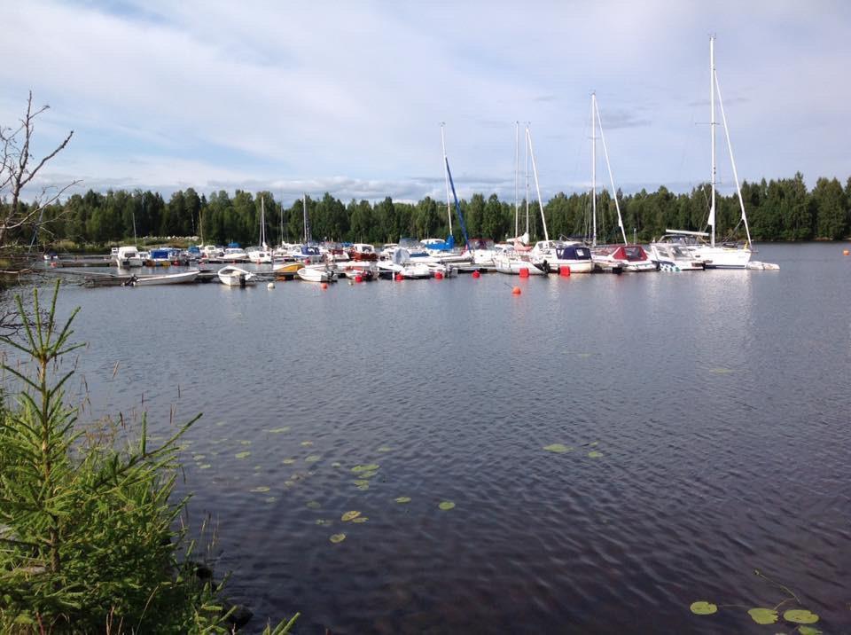 Småbåtshamnen i Bureå