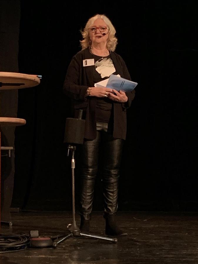 Föreläsning från stora scenen: Britta Ivarsson Possnert