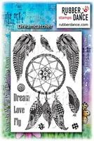 Rubber stamp set Dreamcatcher