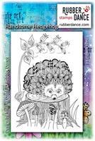 Rubber stamp Handsome Hedgehog