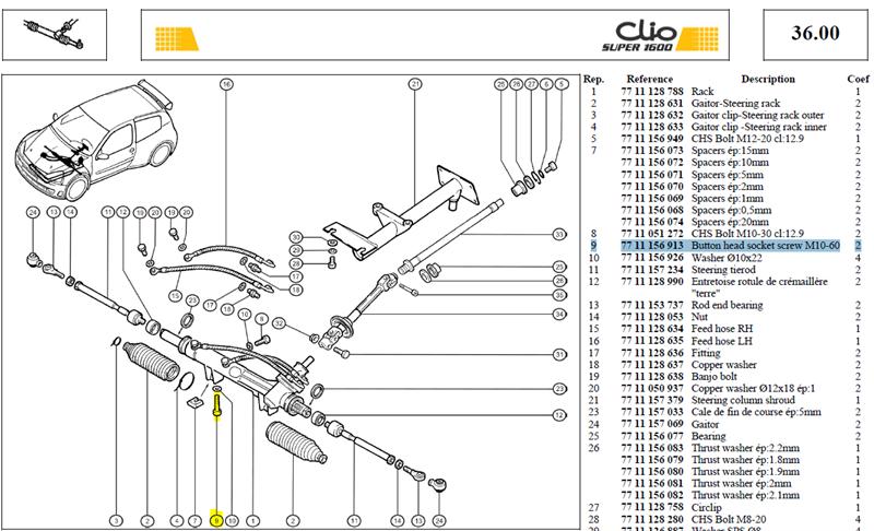 VIS CHCM10X150 TETE BASSE - Button head socket screw M10-60