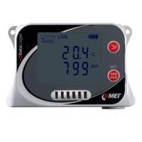 Temperature + relative humidity + CO2 datalogger; internal sensor