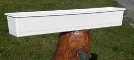 Balkonglåda 50cm Vit