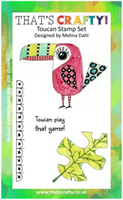 A6 Clear stamp set Toucan