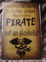 Pirate, peltikyltti