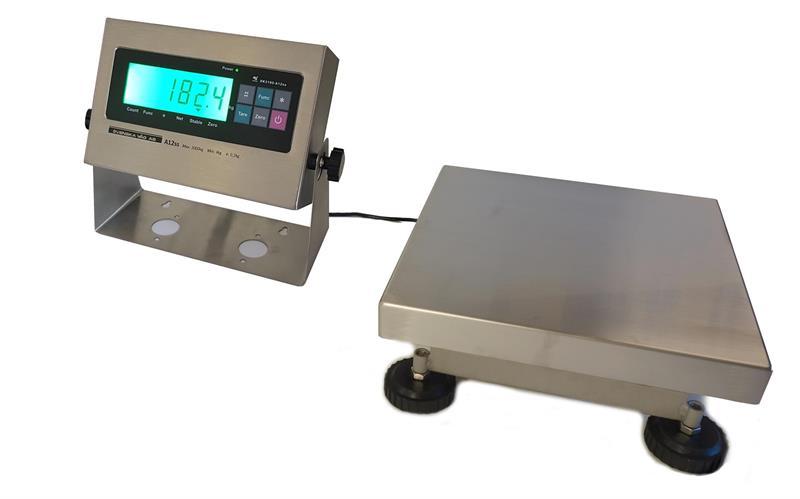 Bänkvåg BSS 250x250mm 3kg inkl. A12ss