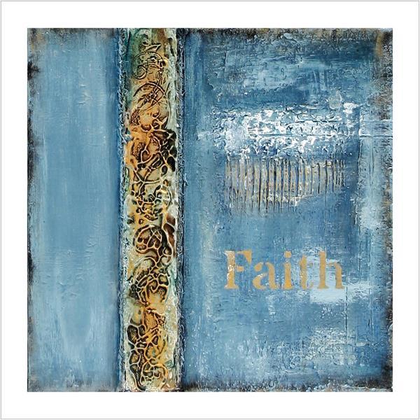 Kunstkort: Faith