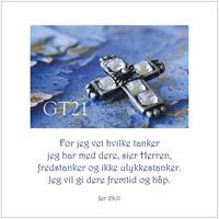 Postkort Jer 29,11
