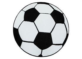 Atlas Fotboll Svart/Vit rund 120