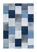 London Mosaik Blå 160*230