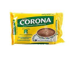 Chocolate Corona con azucar