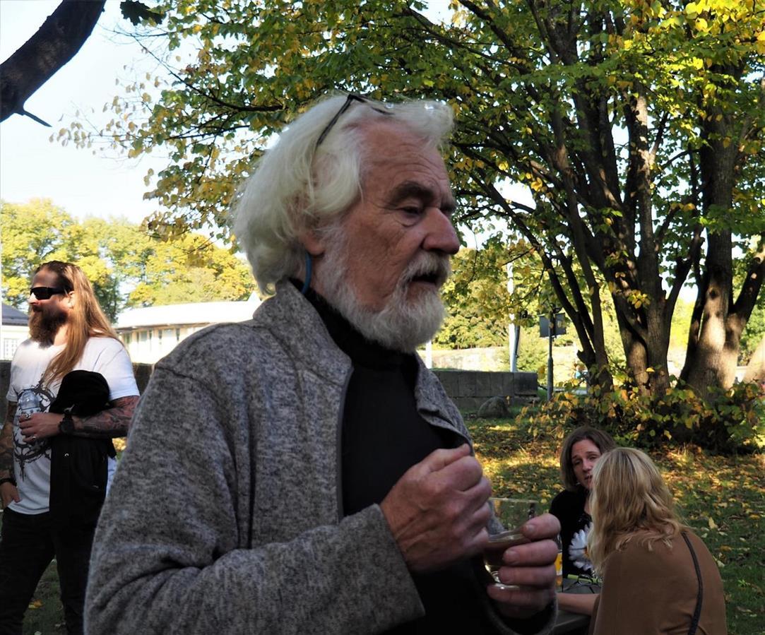 Författarkollega Ragnar Söderling