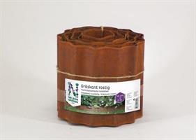 Gräskant 14cmx5m rostig