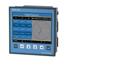 UMG508 Vaux 44...130VAC/48...180VDC RS-485 Ethernet Profibus