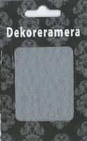 DM- Sticker Snowflake silver / Christmas