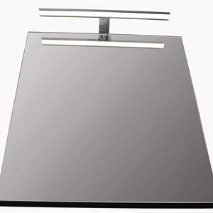 LED Belysning för spegel 50cm, Blank Krom