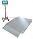 Vagnvåg HCWSS-5 i rostfritt stål 1200x1200 ink. KXS-TM