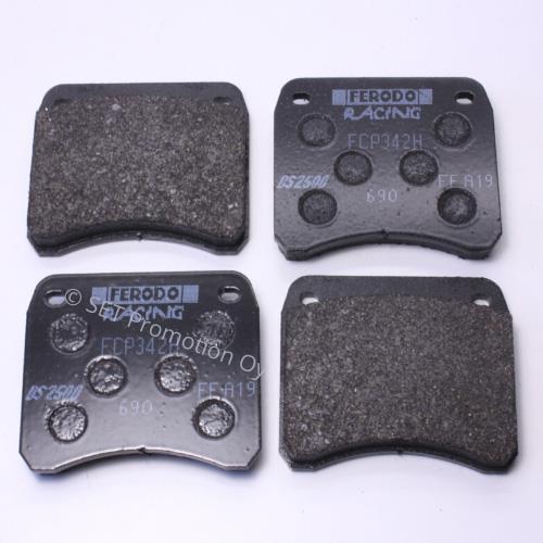 Rear brake pads Ferodo DS2500