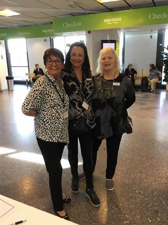 Arrangörer: Birgitta Backlund, Pia F Davidson, Lill Viljesten