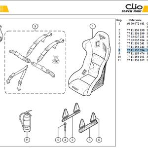 MOYEU DE VOLANT - Steering whel hub
