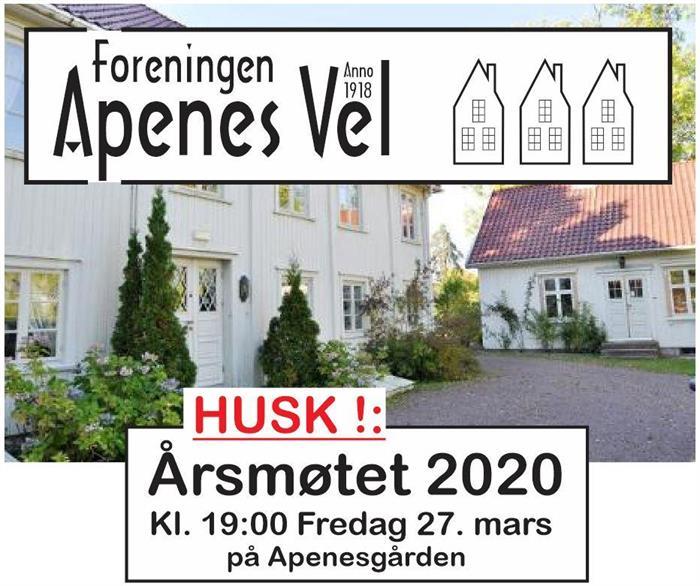 ÅRSMØTE 2020