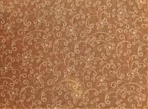 Lys brun m/ beige mønster