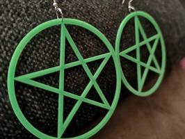 Pentagram, neon vihreät